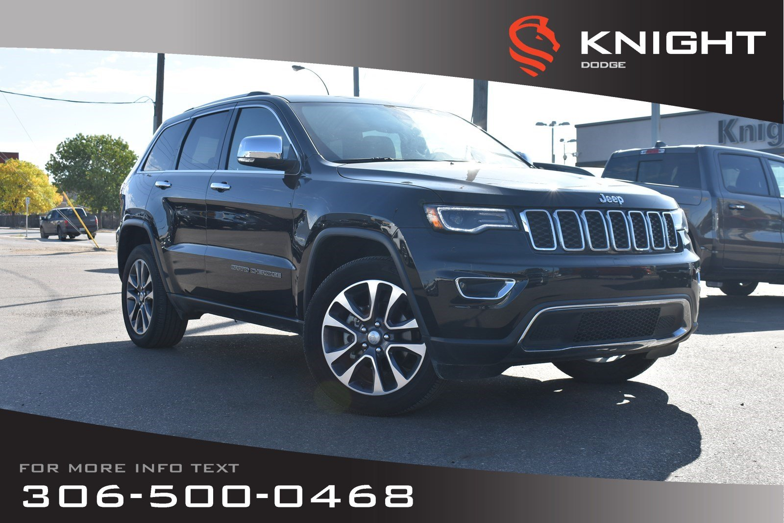 Leather Jeep Seats >> Used 2018 Jeep Grand Cherokee Limited Leather Low Kms Heated Cooled Seats Navigation Sport Utility