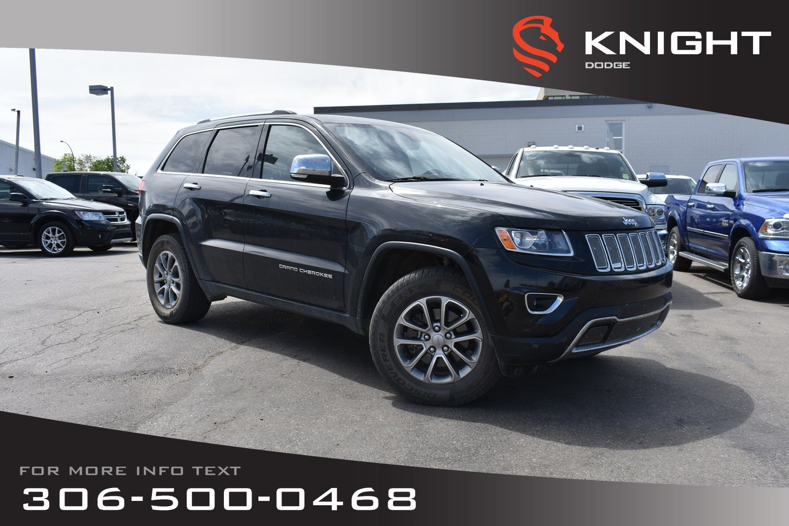 Pre-Owned 2014 Jeep Grand Cherokee Limited | Sunroof | Remote Start | Heated Leather Seats |