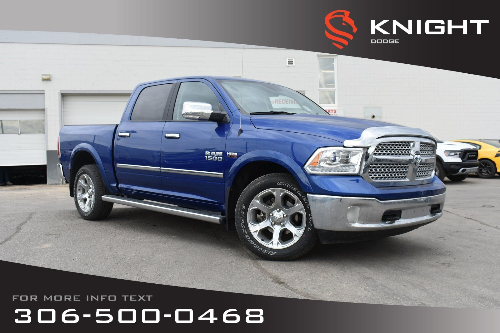 Pre-Owned 2016 Ram 1500 Laramie | Navigation | Heated/Cooled Leather Seats | Remote Start |