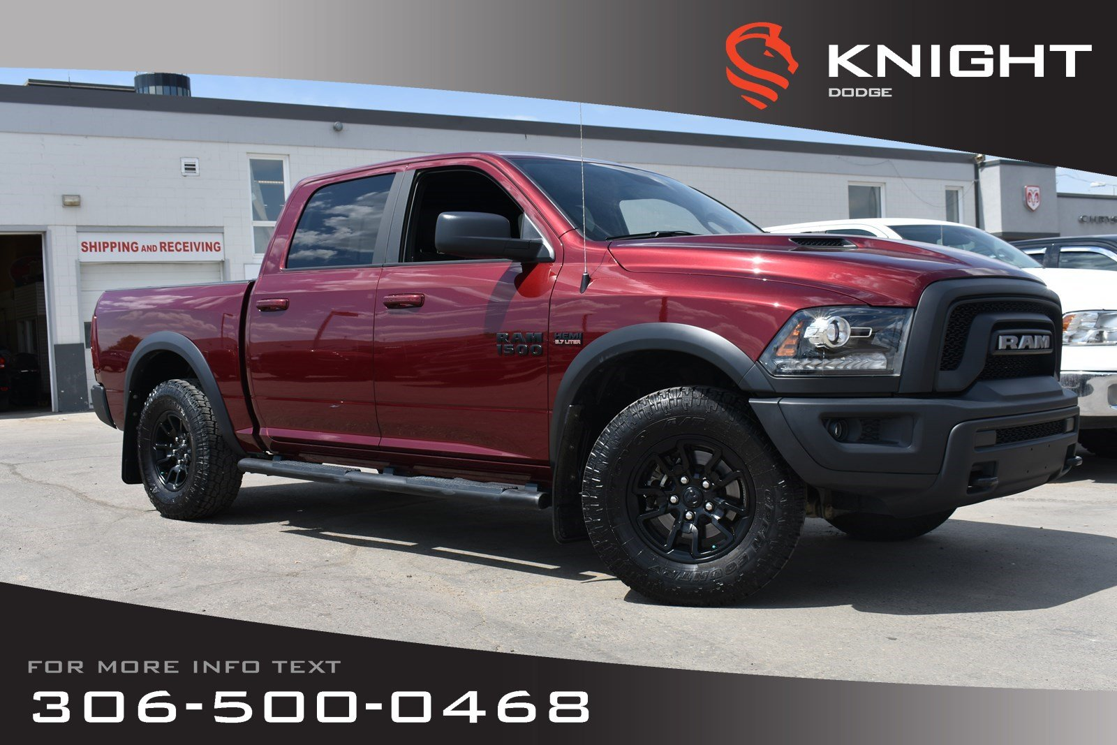 Pre-Owned 2017 Ram 1500 Rebel | Accident Free | LOW KMs | Power Seats |