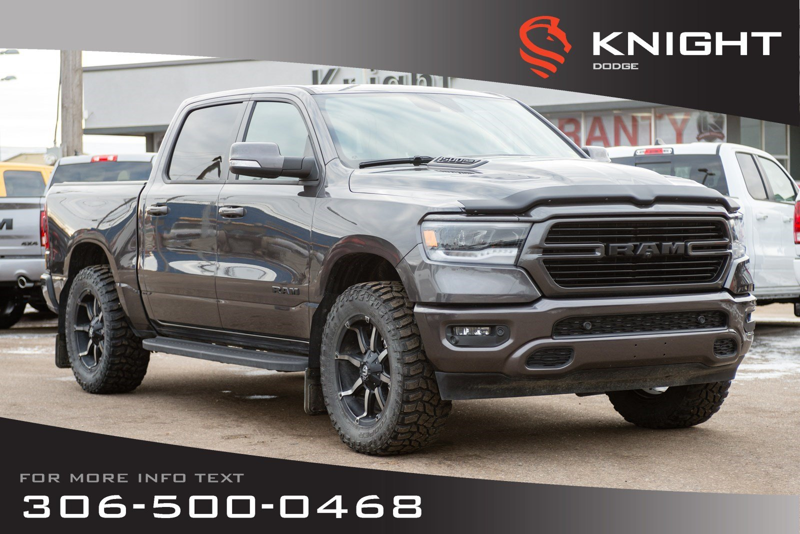 Pre-Owned 2019 Ram 1500 Sport Crew Cab - Pricing is with all the great adds