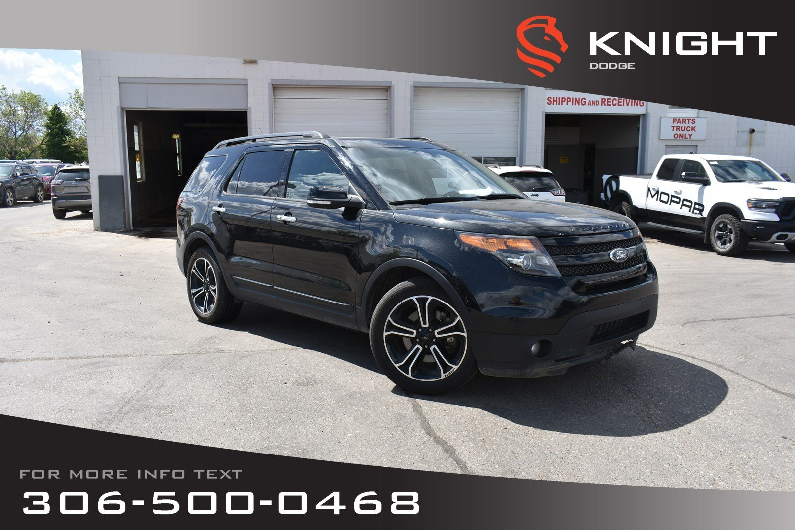 Pre-Owned 2013 Ford Explorer Sport | Heated/Cooled Leather Seats | Sunroof | Remote Start |