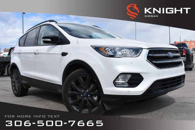 Pre-Owned 2018 Ford Escape Titanium | Remote Start | Heated Seats & Steering Wheel | Bluetooth |