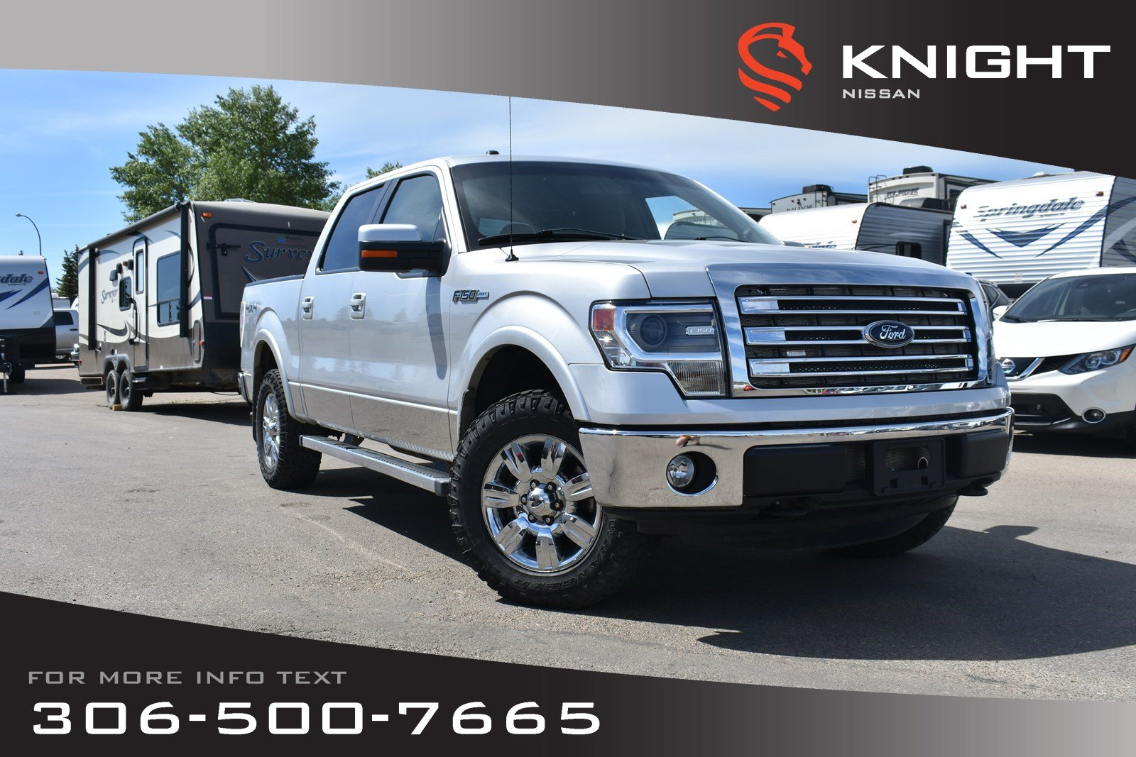 Pre-Owned 2013 Ford F-150 Lariat Leather | Navigation | Heated & Cooled Seats |