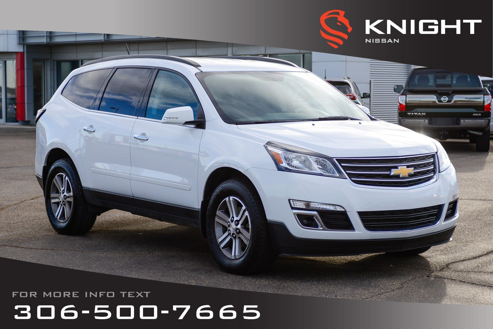 Pre-Owned 2017 Chevrolet Traverse LT | Remote Start | Bluetooth | Heated Seats |