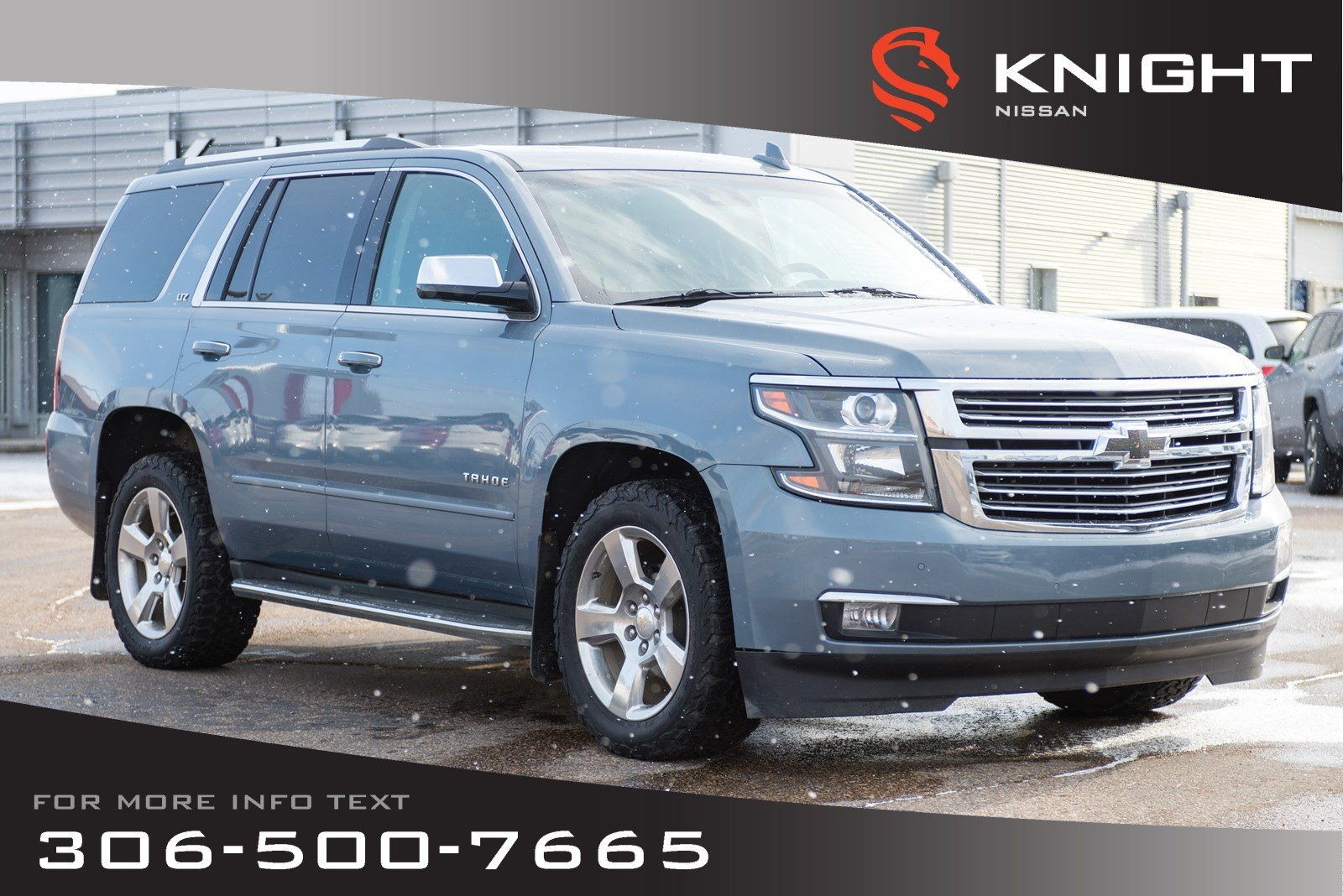 Pre-Owned 2015 Chevrolet Tahoe LTZ | Leather | Heated & Cooled Seats | 3rd Row Seating |
