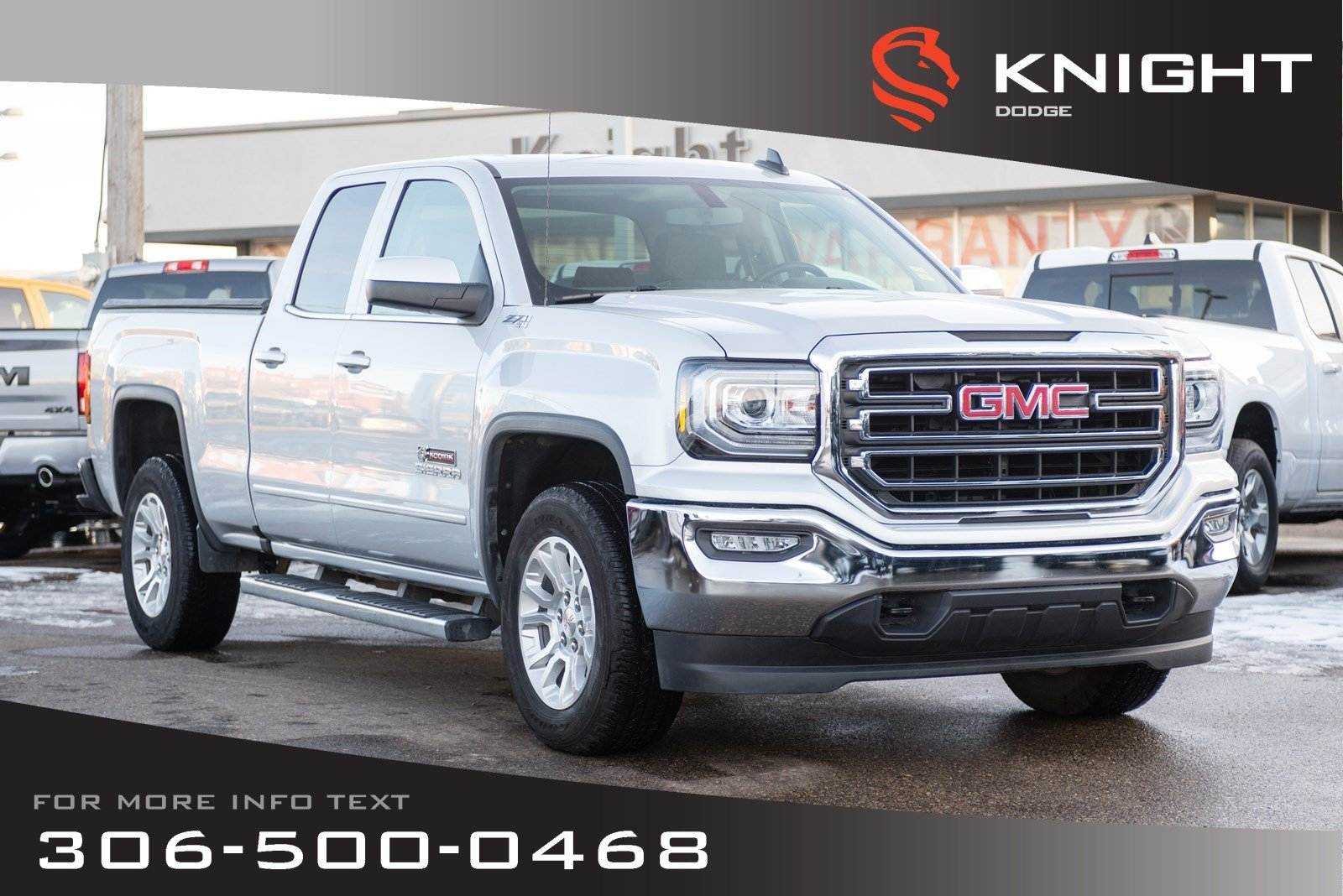 Pre-Owned 2017 GMC Sierra 1500 SLE | Heated Seats | Low KMs | Navigation |