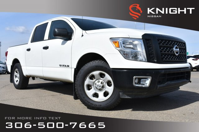 Pre-Owned 2017 Nissan Titan S | Command Start | Bluetooth |