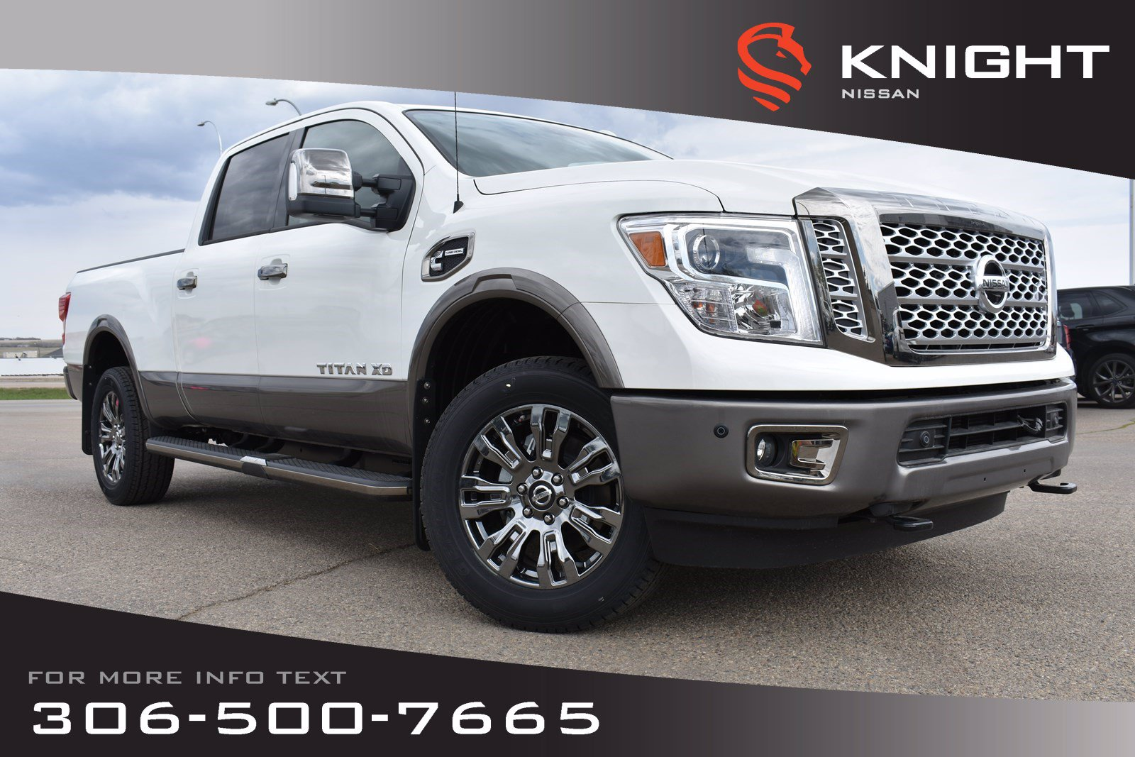 New 2019 Nissan Titan XD Platinum Reserve Crew Cab | Diesel | Leather | Navigation | Remote Start |