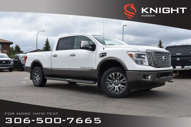 New 2019 Nissan Titan XD Platinum Reserve | Crew Cab | Diesel | Leather | Navigation | Remote Start |
