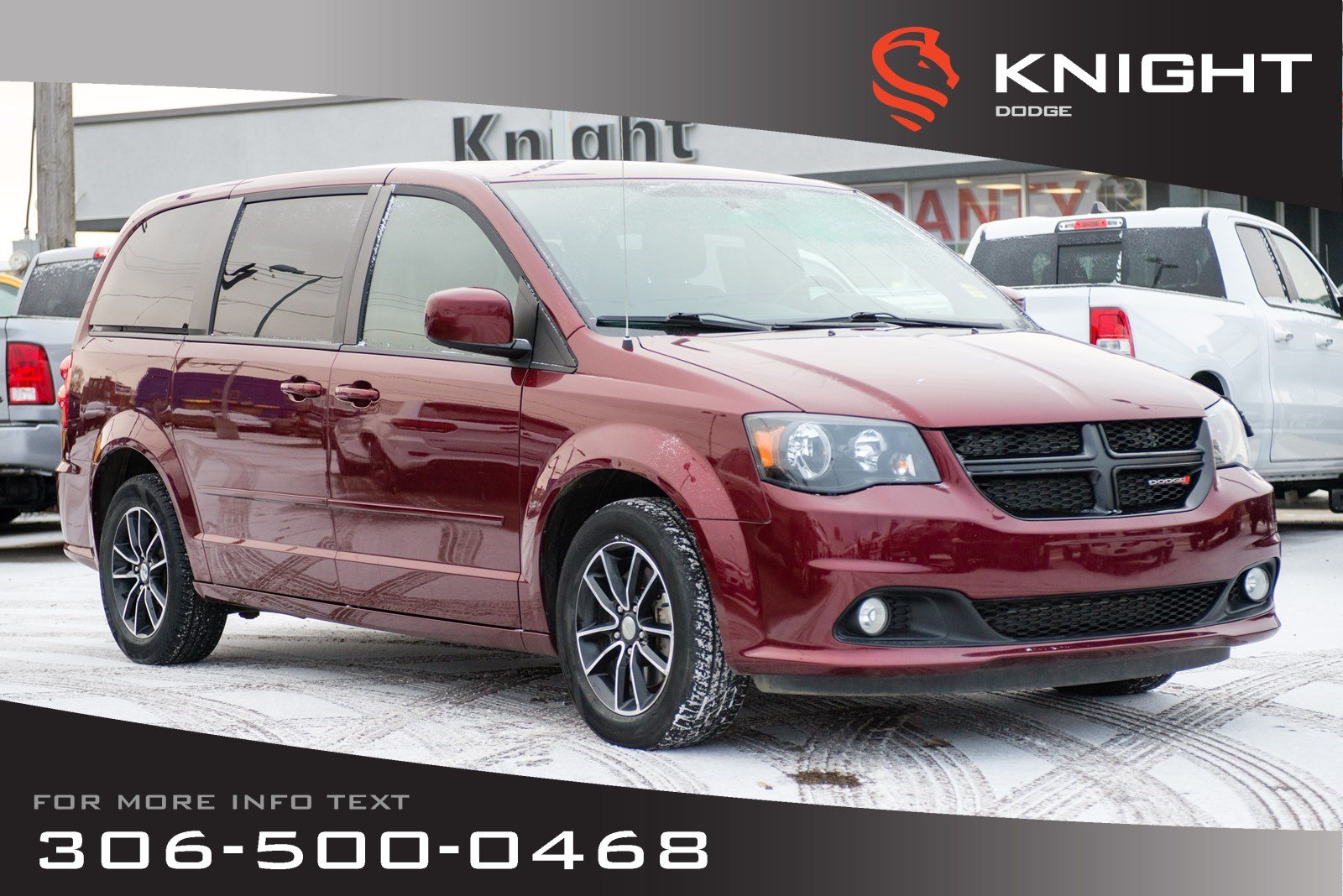 Pre-Owned 2017 Dodge Grand Caravan SXT Premium Plus