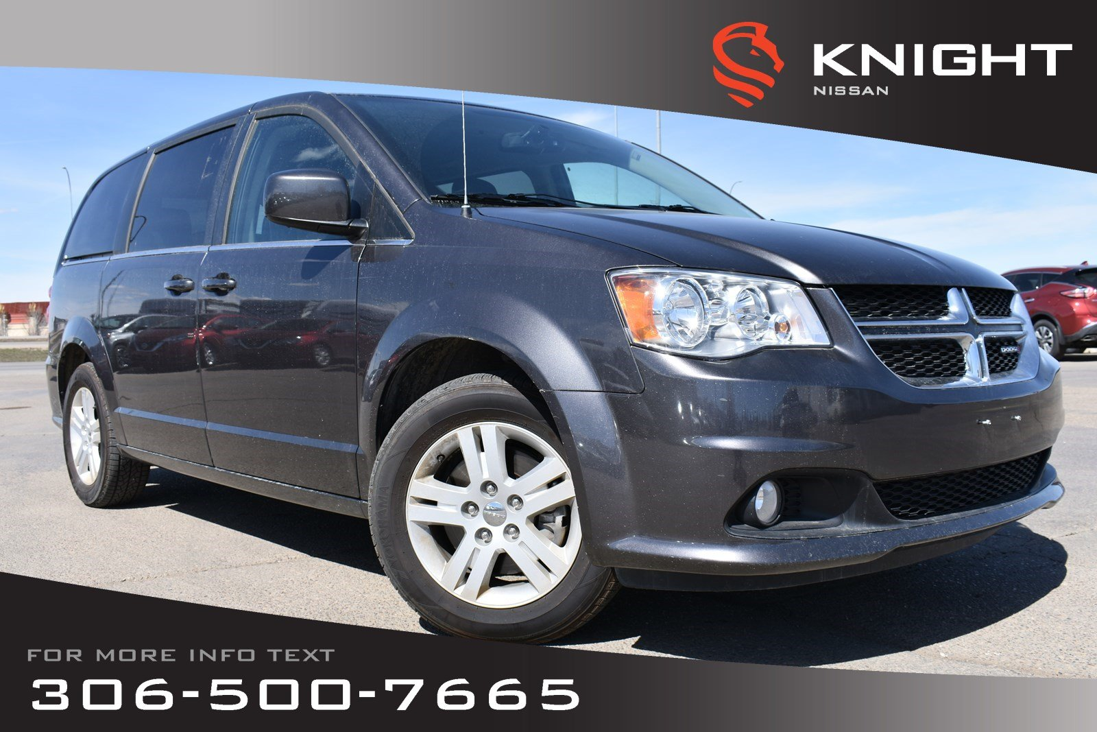 Pre-Owned 2018 Dodge Grand Caravan Crew Plus Leather | Low KMs | Navigation | Heated Seats