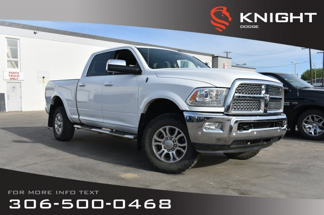 Pre-Owned 2016 Ram 3500 Laramie | Leather | Heated & Cooled Seats | Navigation |
