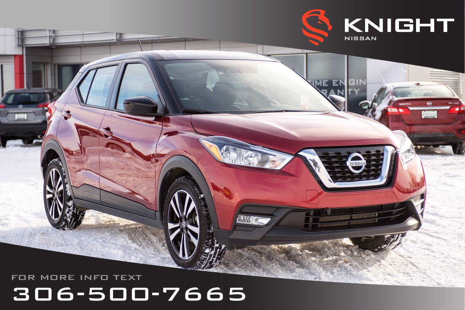 Certified Pre-Owned 2018 Nissan Kicks SV | Heated Seats | Bluetooth | Back Up Camera