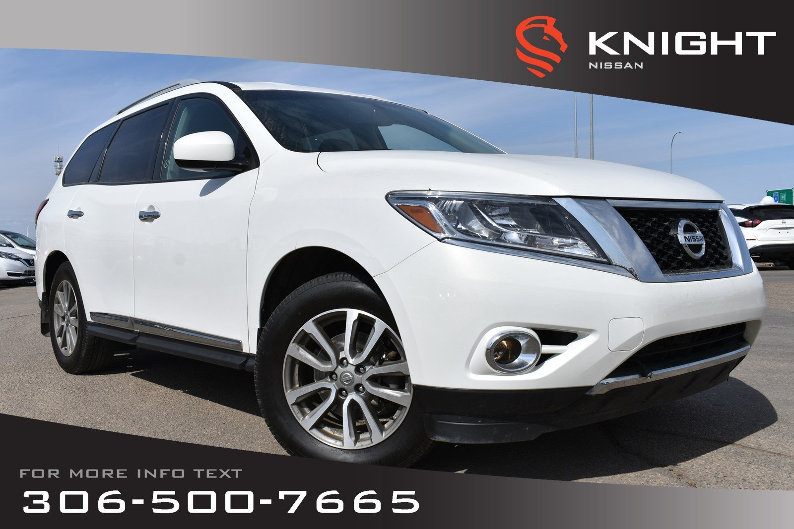 Pre-Owned 2014 Nissan Pathfinder SL Leather | Receiver Hitch | Remote Start | Bluetooth |