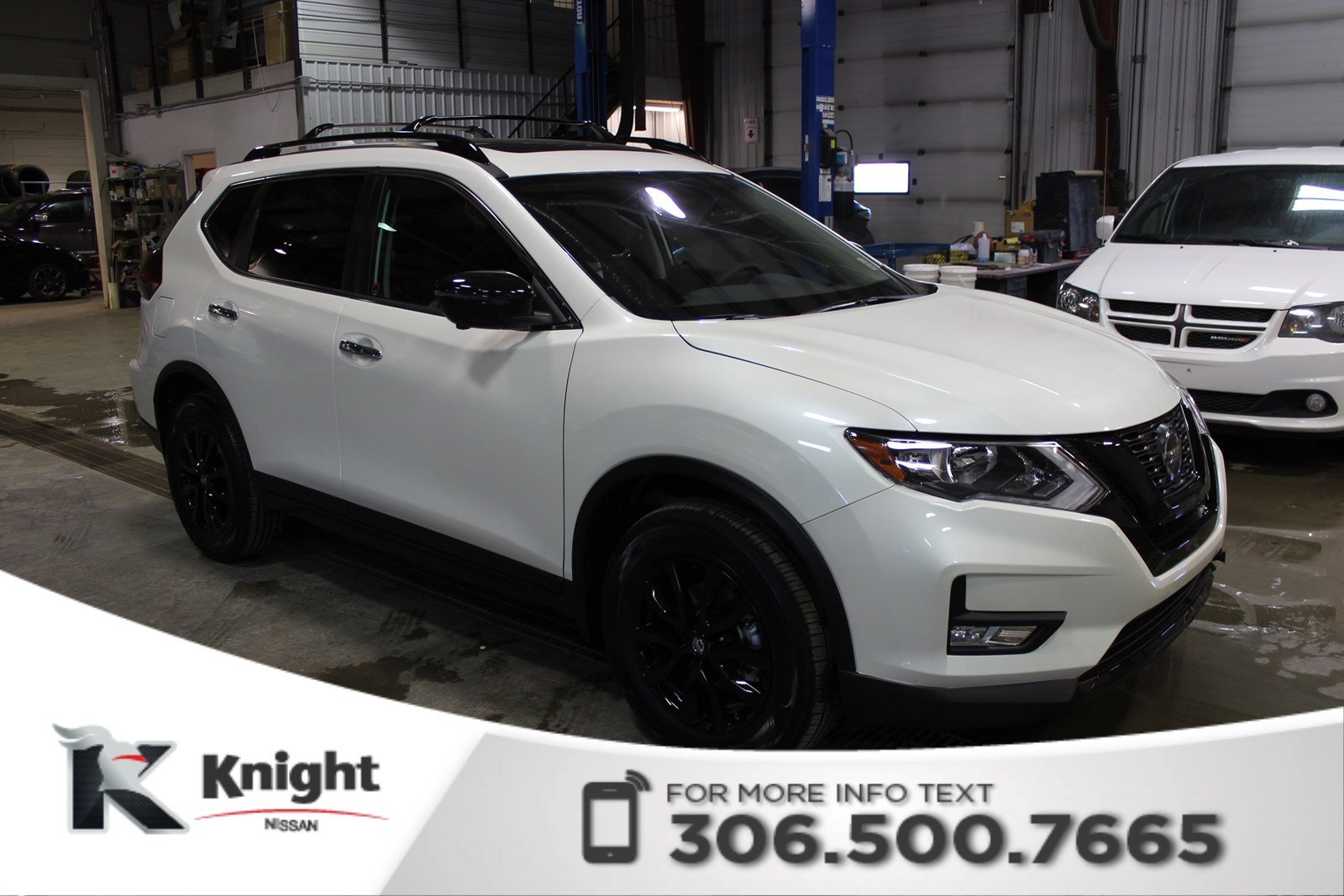 new 2018 nissan rogue midnight edition sport utility near moose jaw 2726 knight nissan. Black Bedroom Furniture Sets. Home Design Ideas