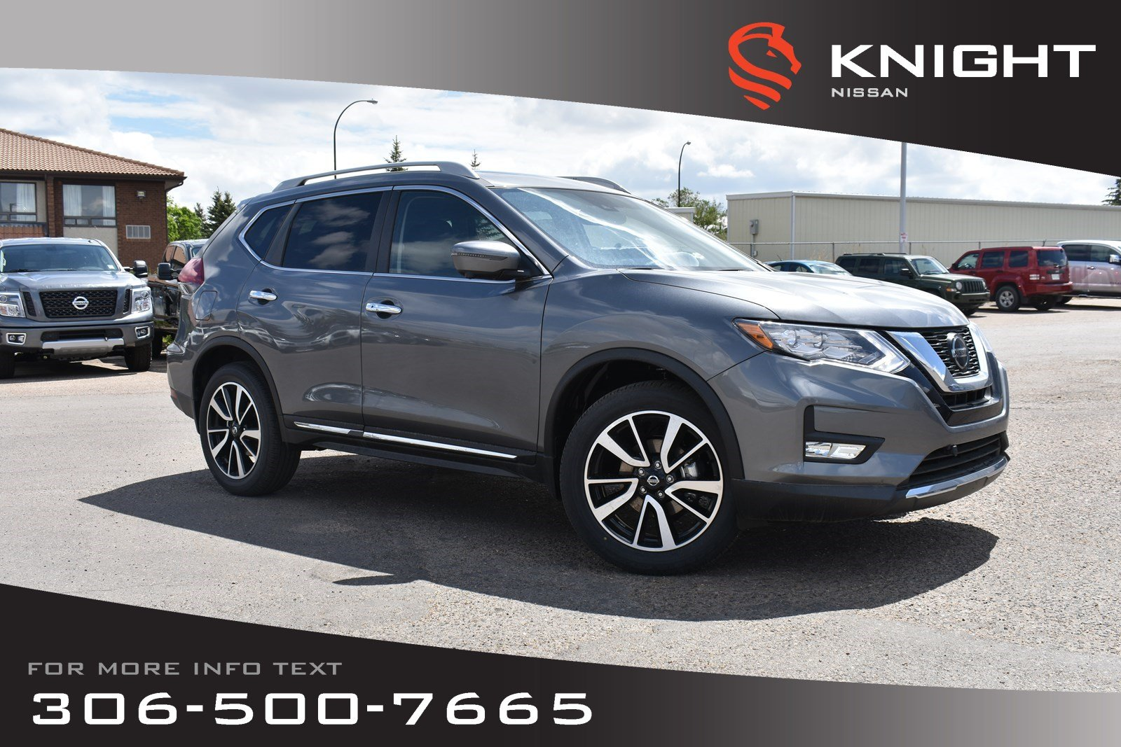 New 2019 Nissan Rogue SL Platinum Leather | Navigation | Remote Start | Heated Seats & Steering Wheel | Bose |