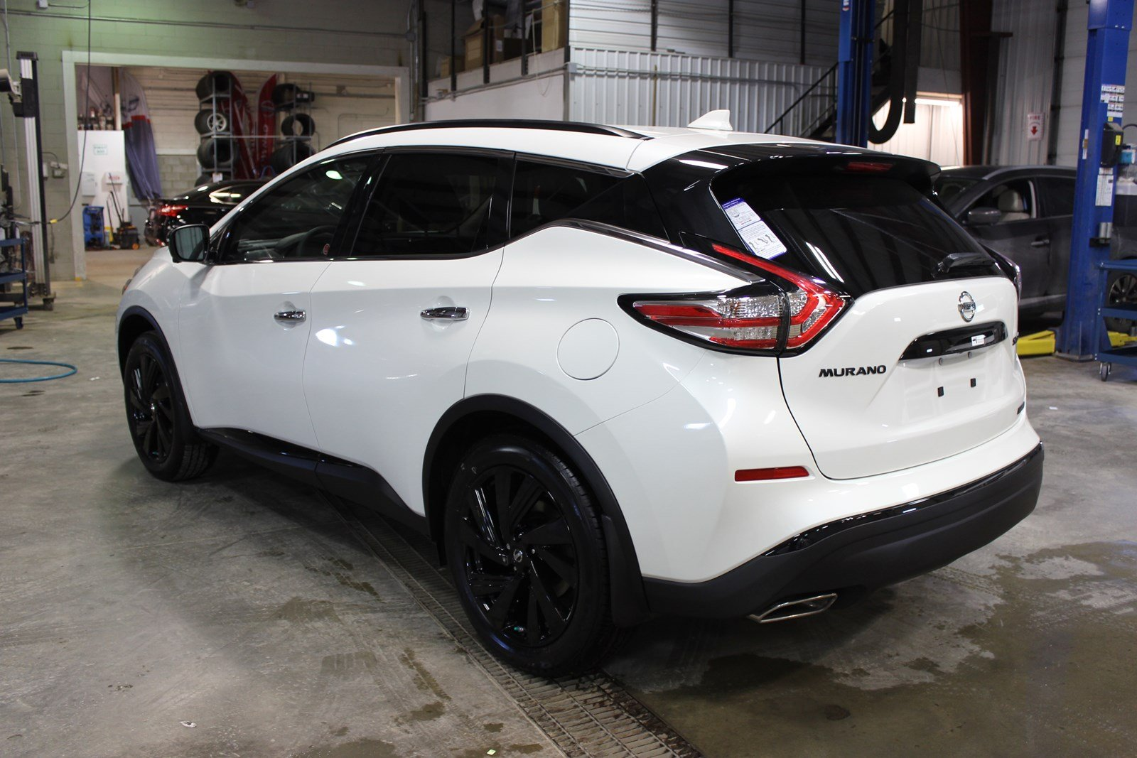 New 2018 Nissan Murano Midnight Edition Sport Utility Near
