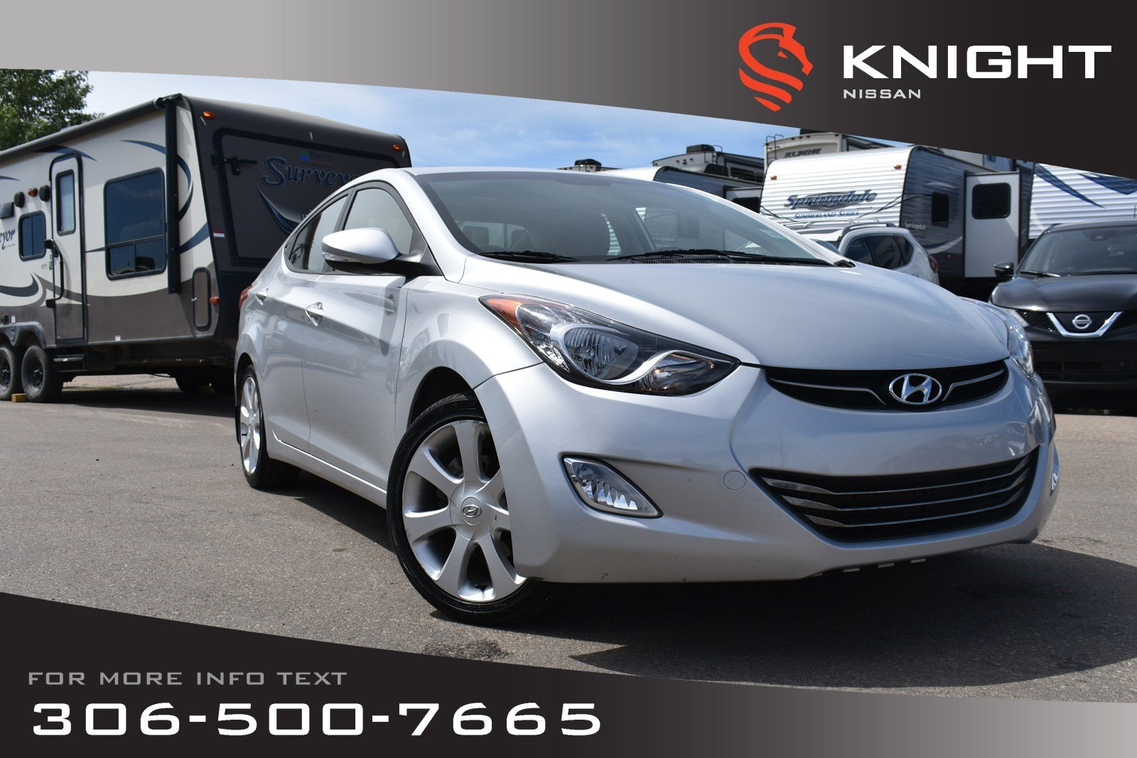 Pre-Owned 2011 Hyundai Elantra Limited Leather | Remote Start | Heated Seats