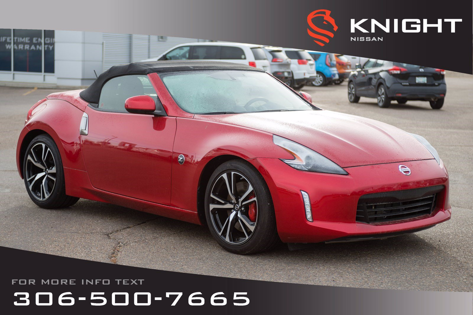 New 2019 Nissan 370Z Roadster | Touring Sport | Leather | Heated & Cooled Seats | CLEAR OUT SPECIAL!