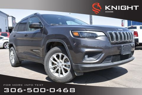 Pre-Owned 2019 Jeep Cherokee North | Power Driver Seat | Back-Up Camera |
