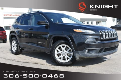 Pre-Owned 2016 Jeep Cherokee North | Full Sunroof | Enhanced Accident Response System | Select-Terrain System