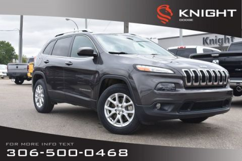 Pre-Owned 2016 Jeep Cherokee North | Heated Seats | Remote Start | Low KMs |