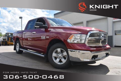 Pre-Owned 2015 Ram 1500 SLT | Accident Free | Bluetooth | Back-Up Camera |