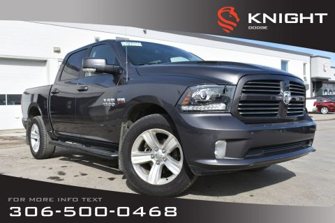 Pre-Owned 2014 Ram 1500 Sport | Heated/Cooled Leather Seats | Remote Start | Sunroof