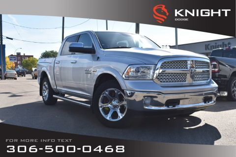 Pre-Owned 2016 Ram 1500 Laramie | Leather | Heated & Cooled Seats | Navigation |
