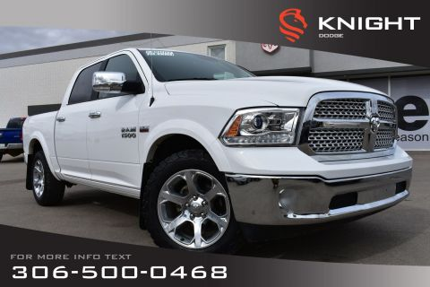 Pre-Owned 2017 Ram 1500 Laramie | Accident Free | Power Seats | Aftermarket Remote Start | Heated/Cooled Leather Seats |