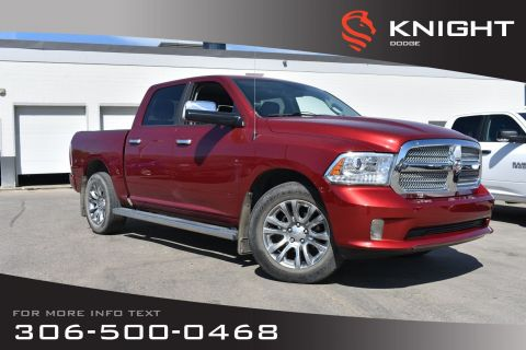 Pre-Owned 2014 Ram 1500 Longhorn Limited | Navigation | Heated/Cooled Leather Seats | Sunroof |