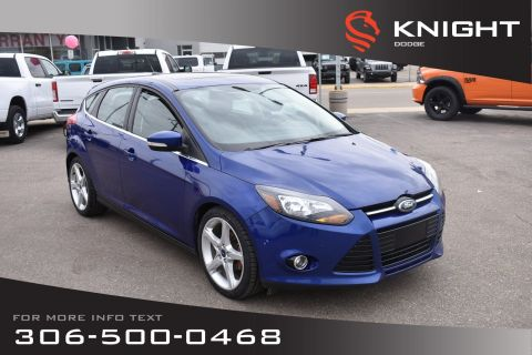 Pre-Owned 2012 Ford Focus Titanium | Leather | Heated Seats | Bluetooth