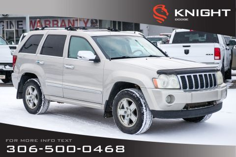 Pre-Owned 2007 Jeep Grand Cherokee Overland | Leather | Remote Start | DVD |