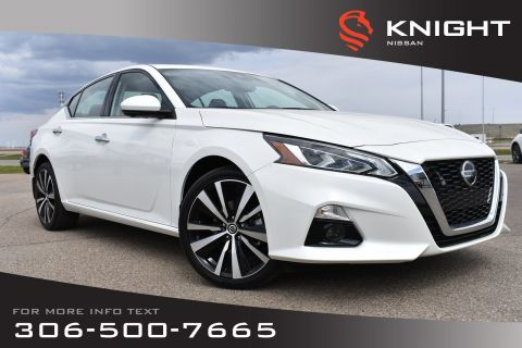 New 2019 Nissan Altima 2.5 Platinum | Leather | Remote Start | Bose System | Navigation | Around View Monitor |
