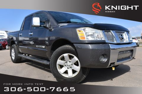 Pre-Owned 2006 Nissan Titan LE Leather | Power Pedals | Heated Seats |