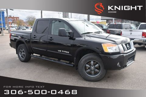 Pre-Owned 2014 Nissan Titan PRO-4X | Leather | Low KMs | Heated Seats |