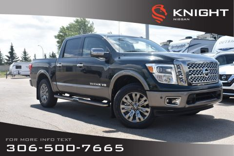 New 2019 Nissan Titan Platinum Reserve | Crew Cab | Leather | Heated Seats | Remote Start |