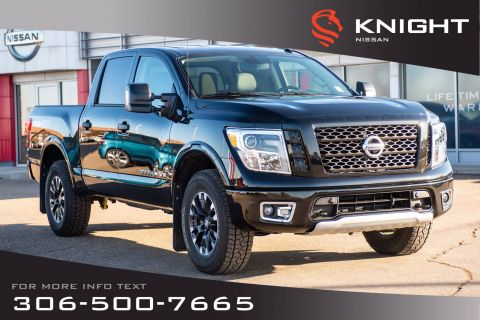 New 2019 Nissan Titan PRO-4X | Luxury Package | Leather | Navigation | Heated Seats |