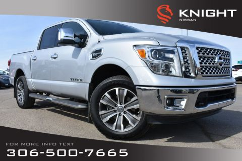 Pre-Owned 2017 Nissan Titan SL Leather | Low KMs | Heated Seats | Remote Start | Navigation |