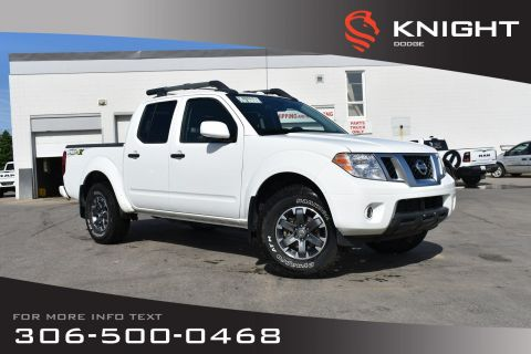 Pre-Owned 2018 Nissan Frontier PRO-4X | Navigation | Sunroof |