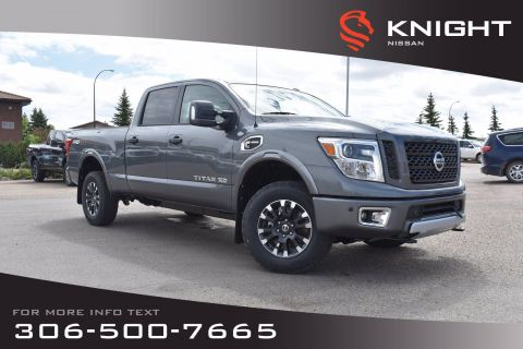New 2019 Nissan Titan XD PRO-4X | Crew Cab | Leather | Navigation | Remote Start |