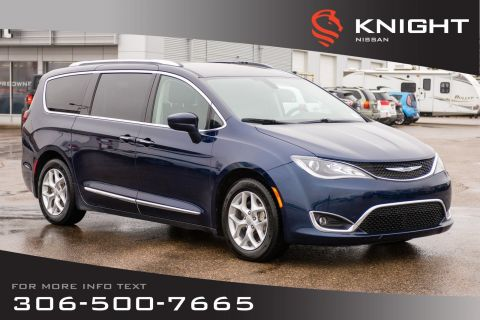 Pre-Owned 2017 Chrysler Pacifica Touring-L Plus | Leather | Heated Seats & Steering Wheel | DVD Package