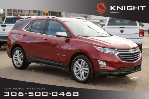 Pre-Owned 2018 Chevrolet Equinox Premier | Bluetooth | Heated Seats | Navigation |