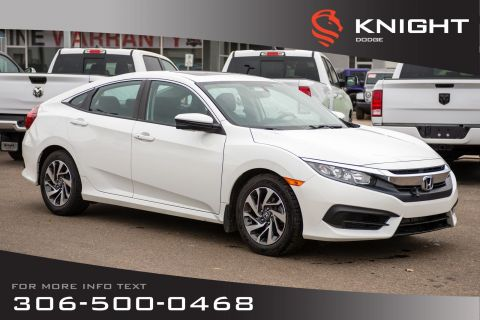 Pre-Owned 2016 Honda Civic Sedan EX | Heated Seats | Remote Start | Back Up Camera