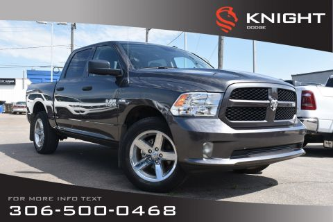 Pre-Owned 2017 Ram 1500 Express | Low KMs | Bluetooth |