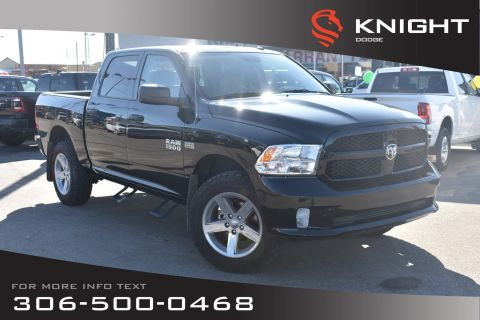 Pre-Owned 2017 Ram 1500 Express | Accident Free | Tilt | Cruise Control |