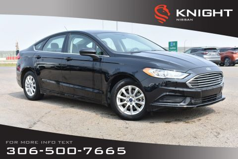 Pre-Owned 2017 Ford Fusion S Bluetooth | Back Up Camera | Low KMs