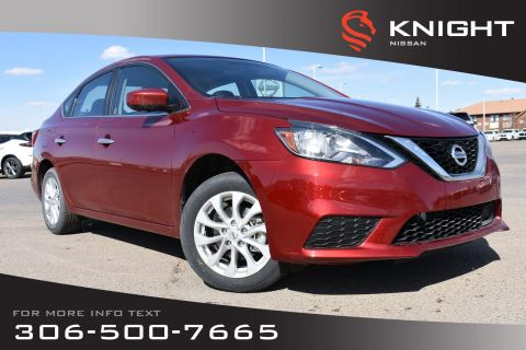 New 2019 Nissan Sentra SV Style Package | Heated Seats | Back Up Camera | Bluetooth | Moonroof