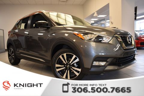 New 2019 Nissan Kicks SR Leather | Remote Start | Heated Seats | Bose System | Around View Monitor